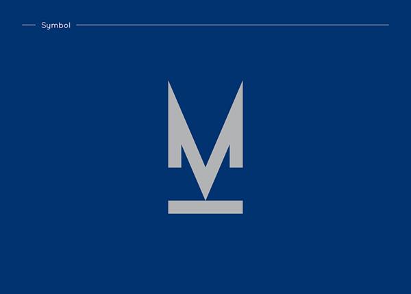 photographer colour identity stationary logo blue silver