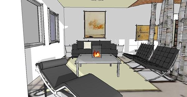 Interiors a softer international style on behance for International interior designers
