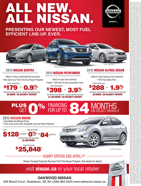 Nissan Car Ads On Adweek Talent Gallery