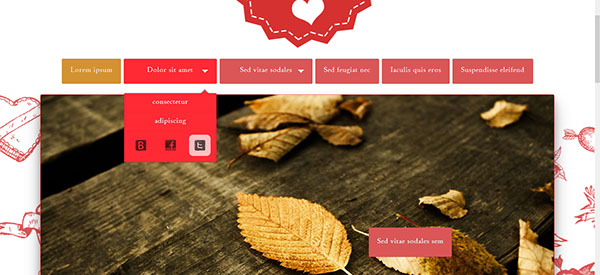 clean site  web doodles template HTML css jquery One Page Theme