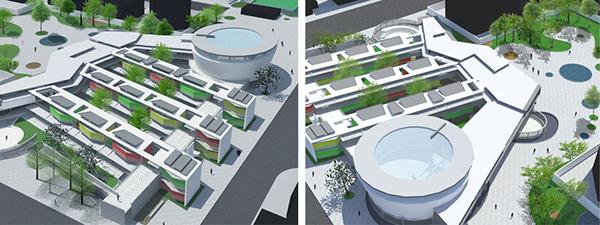 Arquitectura para ciegos y deficientes visuales on behance for Edificios educativos arquitectura