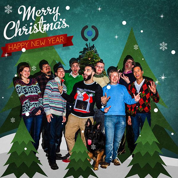 company christmas card on behance - Company Christmas Cards