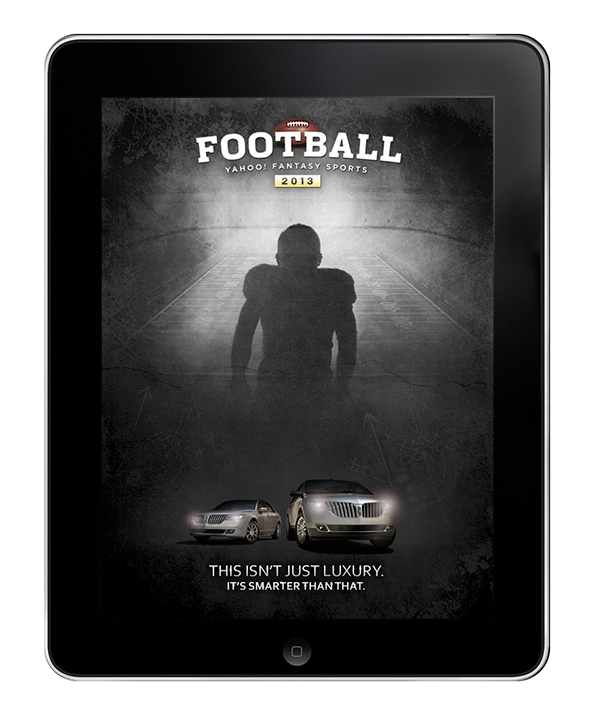 Part of internal pitch for Fantasy Football Home Screen on Behance