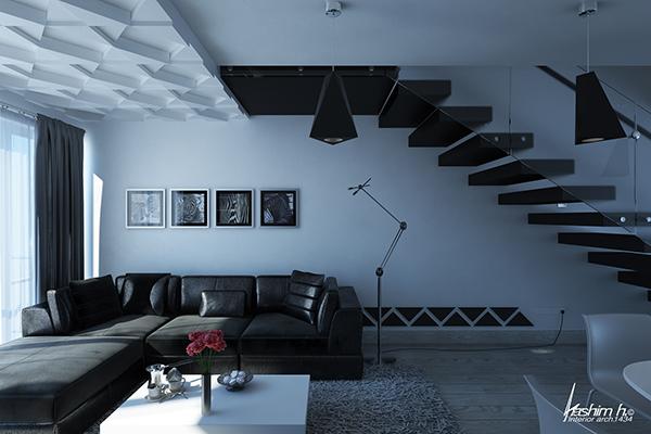 Modern Living Room In Yemen On Behance