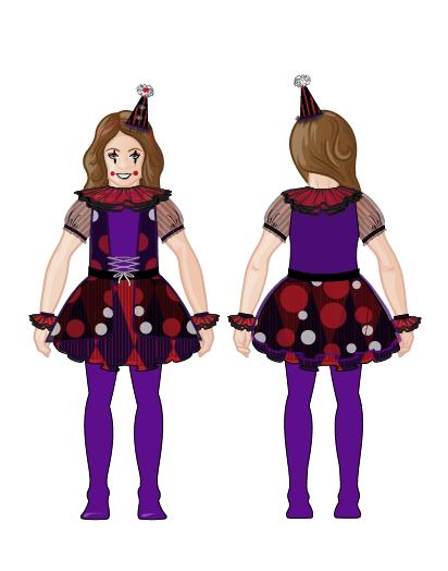 Spirit Halloween Clown Costumes Kids.Clown Kid S Costume On Behance