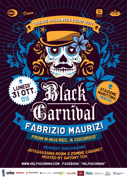 Black Carnival event 2011 edition on Behance