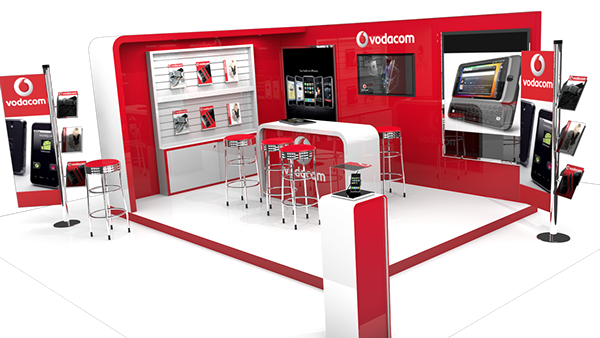 Exhibition Stand Png : Exhibition stand blender d on behance