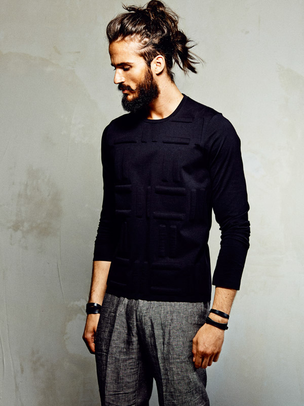 Oh Hello There Glorious Man Bun On The Head Of Model Sven