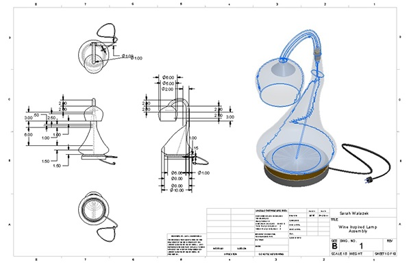 CAD Portfolio (AutoCAD, SolidWorks, Inventor, Revit) on Behance