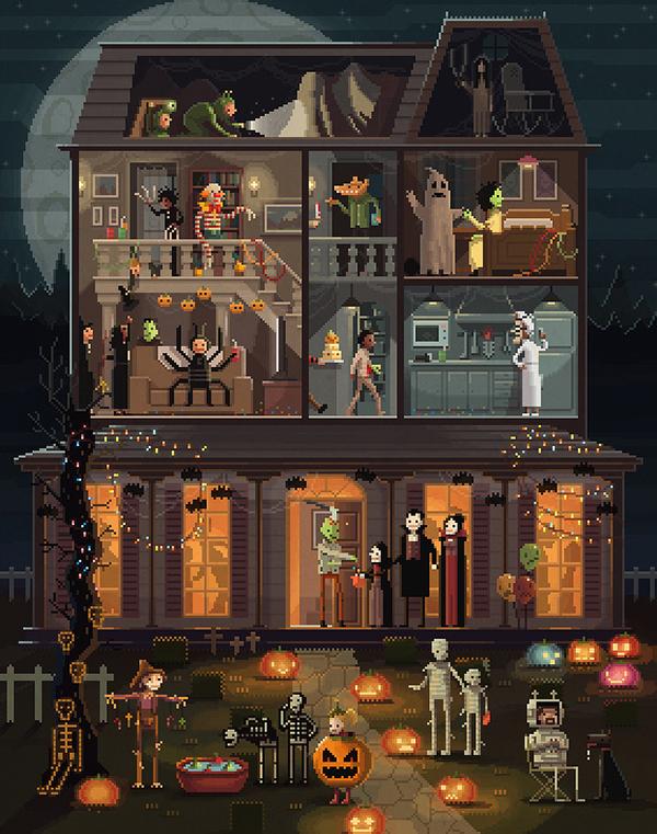 #PixelArt Pixel art Videogames art digital