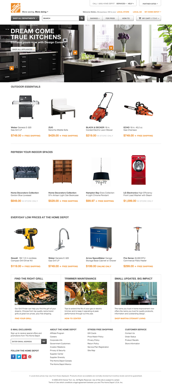 Shop online for all your home improvement needs: appliances, bathroom decorating Free In-Store Pickup · DIY Projects & Ideas · Credit Services · Truck & Tool RentalTypes: Appliances, Kitchen & Bath, Paint, Tools & Hardware, Heating & Cooling.