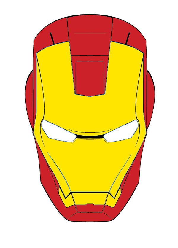 melting iron man mask - photo #17