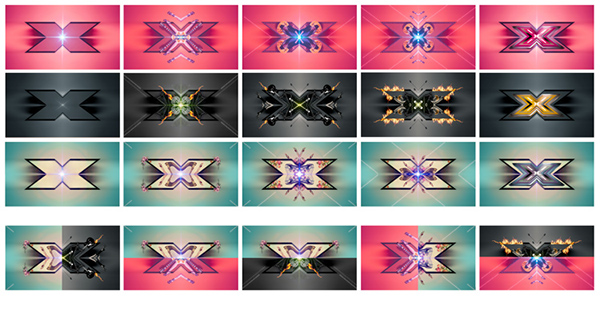 kaleidoscope xfactor promo israel Tel Aviv reshet fire harp DANCE   Top Shot promax symmetry