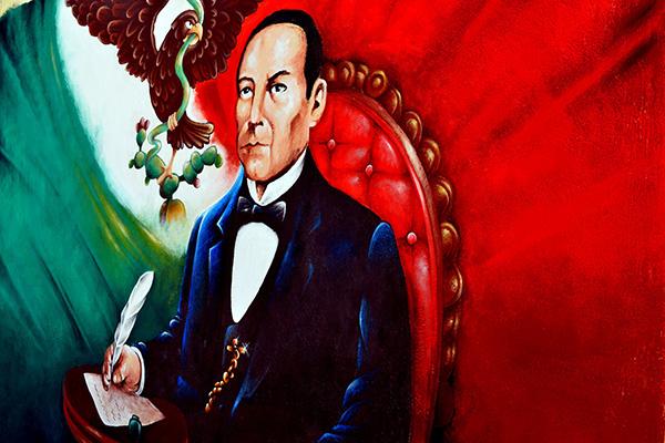 Mural benito juarez on behance for Benito juarez mural