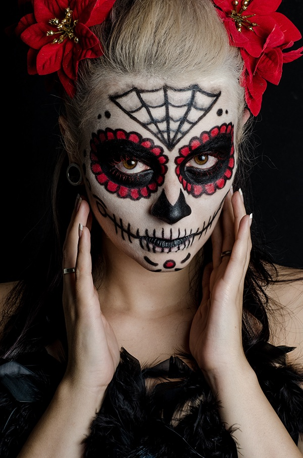 Photography Catrina Sugar Skull Makeup Behance