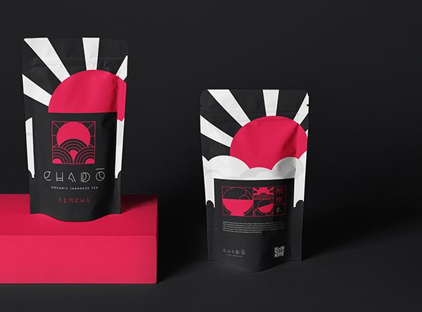 Chadō - organic tea branding