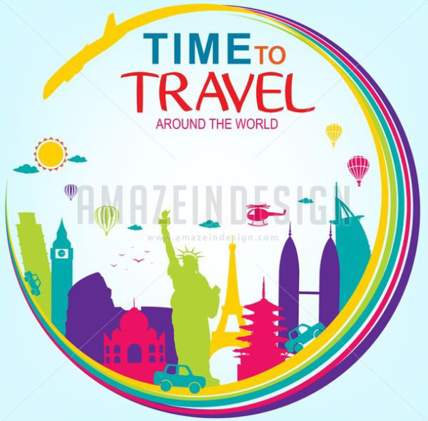 Time to travel around the world on wacom gallery for Around the world cruise