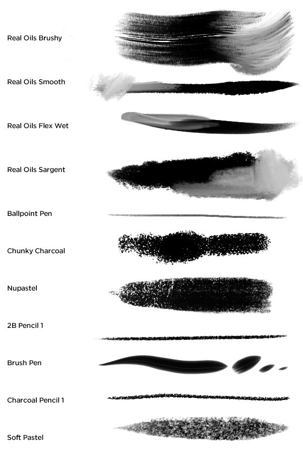 Kyle's Megapack Photoshop Brushes on Behance