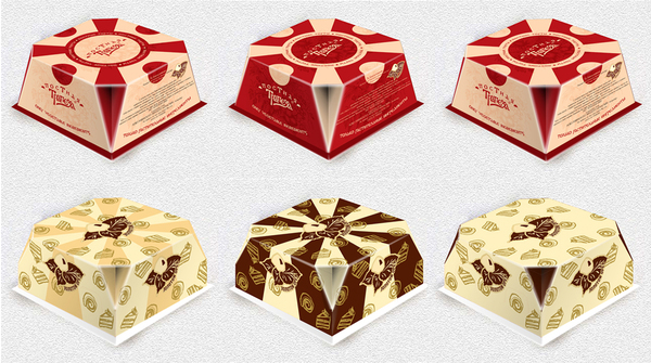 Cake Design Box : Design of cake box on Adweek Talent Gallery