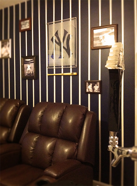 Yankees Man Cave Ideas : Yankees inspired man cave on behance