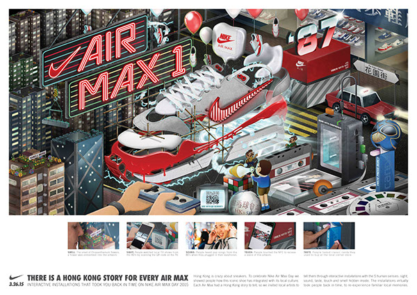 b152c8560e44f1 Nike Air Max Day Hong Kong   Step Back in Time  interactive installations