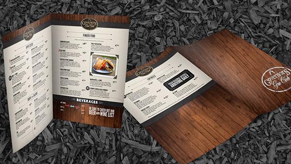 Retail menu