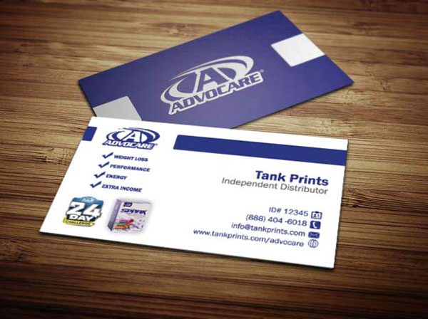 Advocare Business Cards On Behance