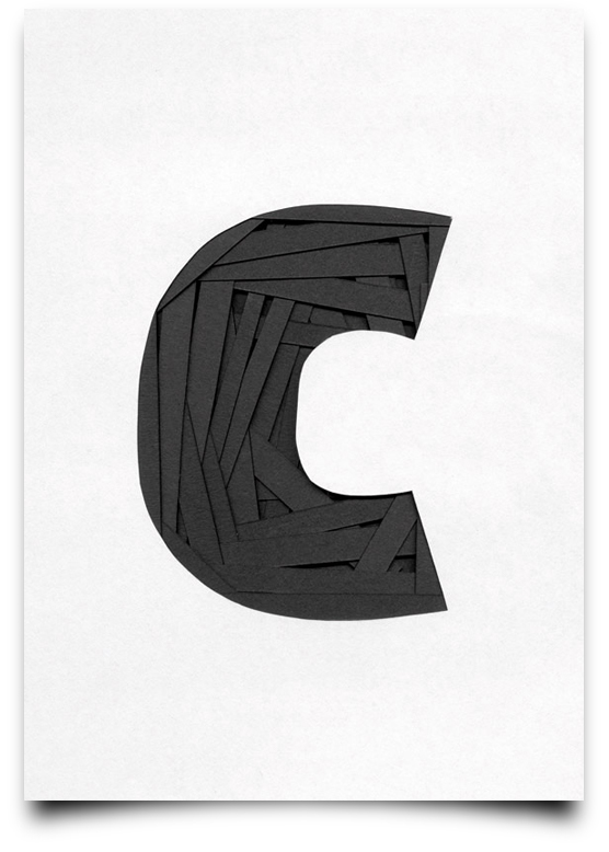 type scan alphabet by Tony Ziebetzki