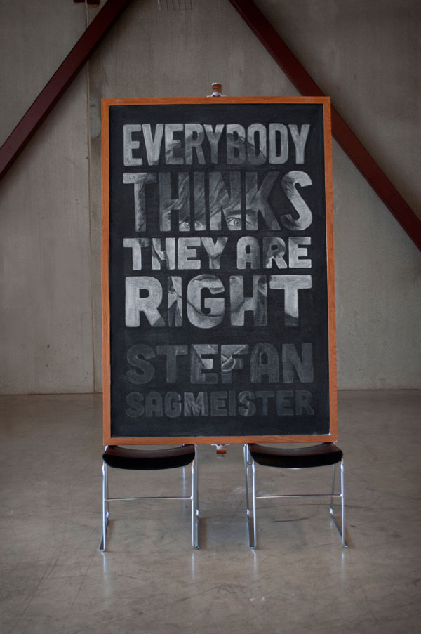 type lettering chalk Chalk art portrait Weekly series Quotes campaign poster inspiration motivation school