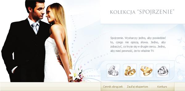 apart wedding wedding rings design Flash Jewellery Minisite Webdesign biżuteria ślub obraczka obraczki ślubne Web jewelry