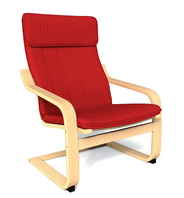 Ikea poang chair cover sypsie 28 images ikea poang chair cover leather furnitures online - Red poang chair ...