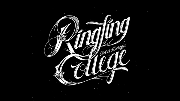 College Shirt Font Ringling College Shirt Design