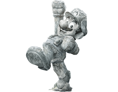 concept art Digital Art  franko schiermeyer Hero ILLUSTRATION  Nintendo painting   photoshop stone Super Mario