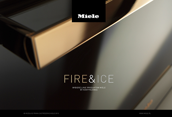 miele fire ice on behance. Black Bedroom Furniture Sets. Home Design Ideas