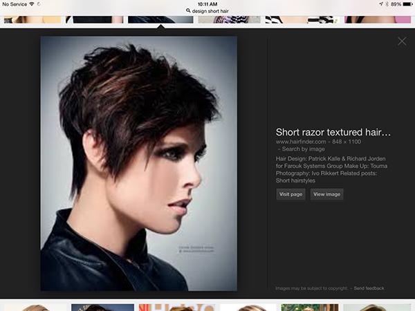 Design Short Hair On Student Show