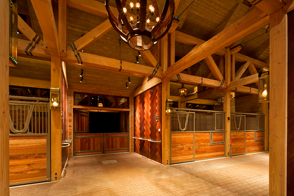 Rocky Mountain Horse Barn On Behance