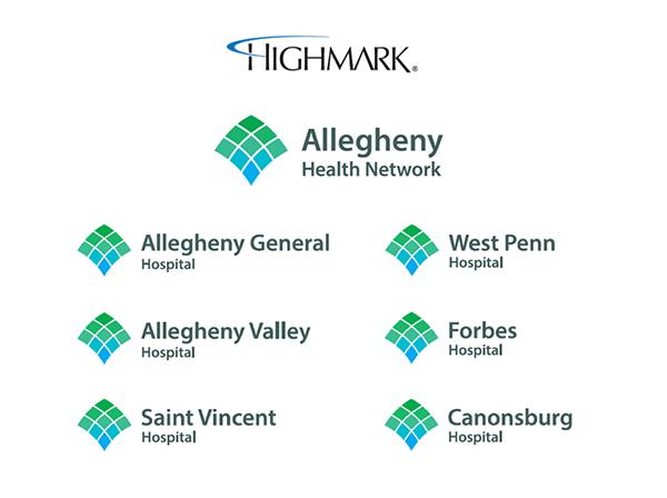 Allegheny Health Network on Behance