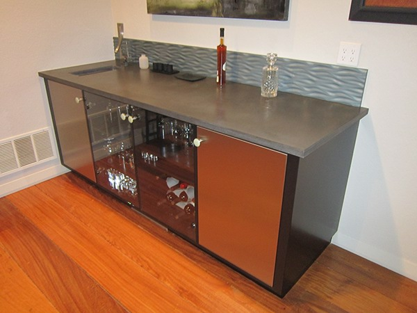 My custom cabinetry and furniture portfolio on behance for Kitchen cabinets 94565