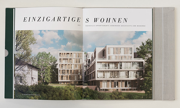 Rainville appartements on pantone canvas gallery for Design appartement hamburg
