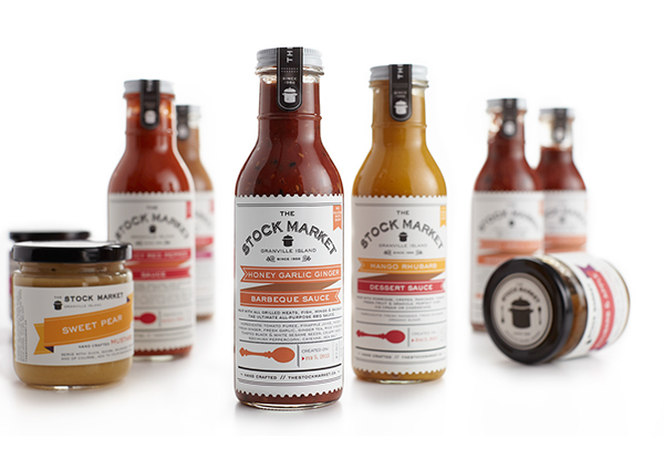 Packaging design inspiration #16 - The Stock Market Soup Shop by arithmetic creative