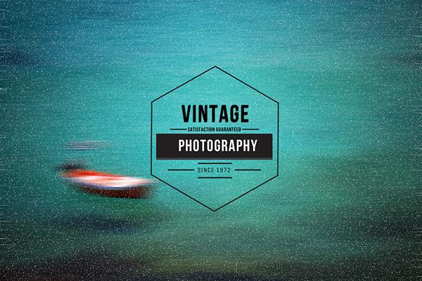 Free Vintage Insignia Logo Badge for Photographers on Behance