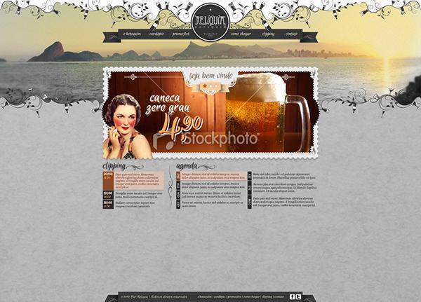 bar botequim boteco Tavern pub cafe saloom niteroi site Website Brasil Brazil