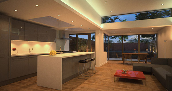 Rear House Extension Muswell Hill London On Behance