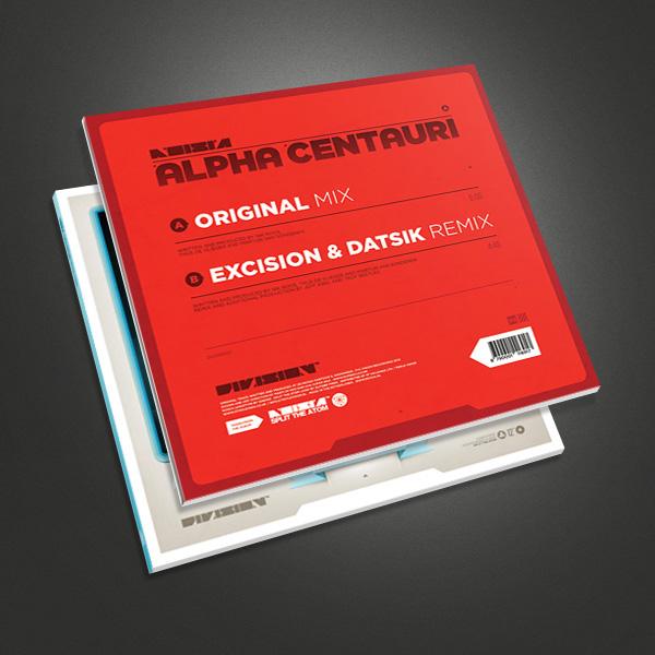 noisia Alpha Centauri Split the Atom excision datsik vision division Drum and Bass dubstep electro house 12 vinyl Super Silo Martijn van Dam