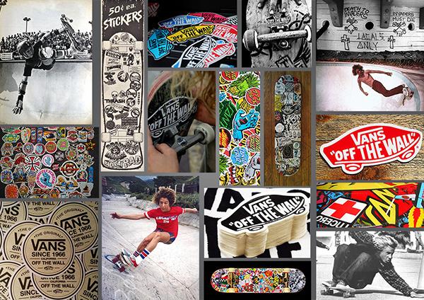 Vans 50th Anniversary Sticker Pack on Wacom Gallery