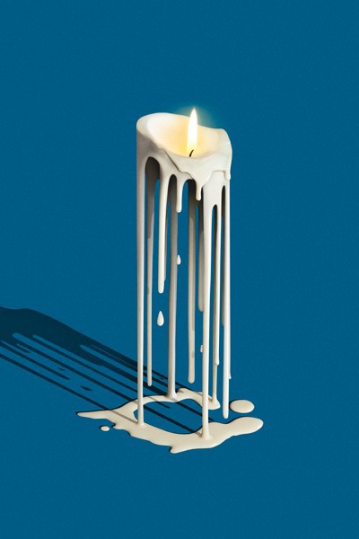 Melted Candles on Behance - 30.3KB