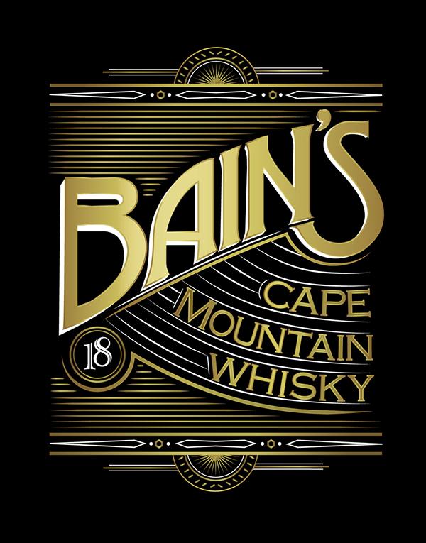 Bain 39 s cape mountain whisky on packaging design served for Bain s whisky