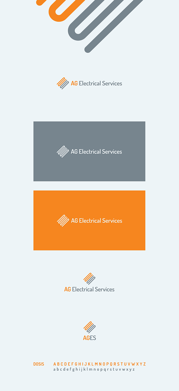 Electrical Logo Design On Behance