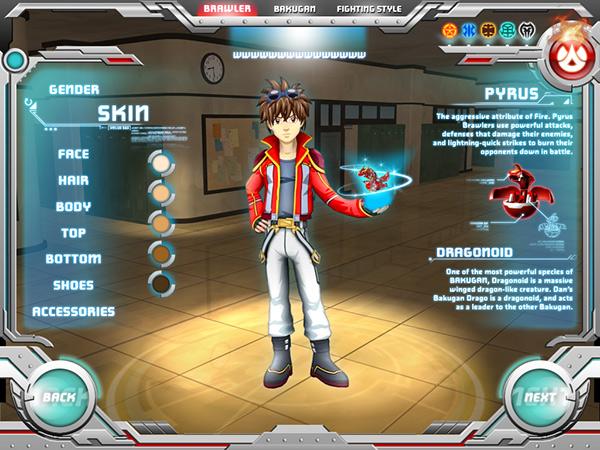 Bakugan & Bakugan Dimensions UI Creative on Behance