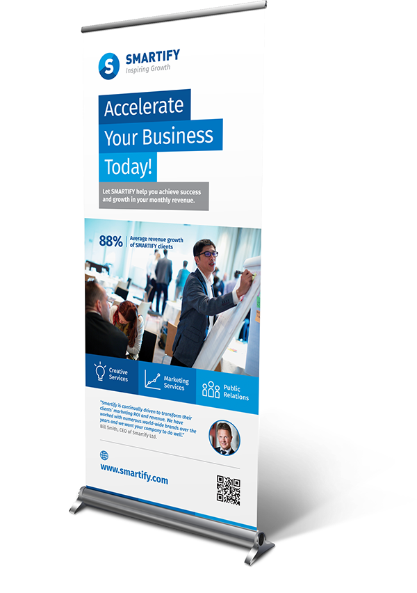 Corporate Business Roll-up Banners Template on Behance